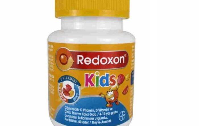 Redoxon kids c vitamini d vitamini çinko çiğnenebilir vitamin